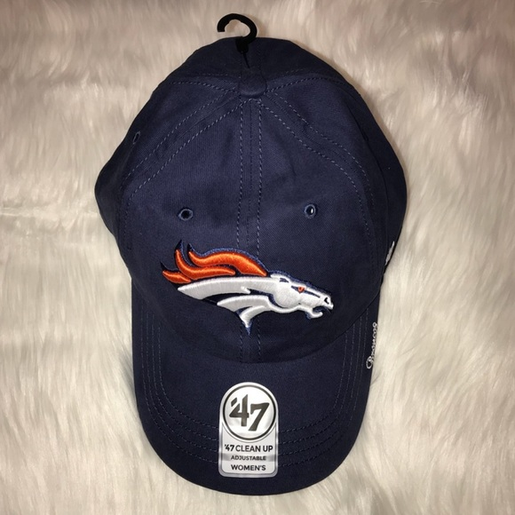 NEW Womens Denver Broncos Logo NFL Ball Cap 949dcb369